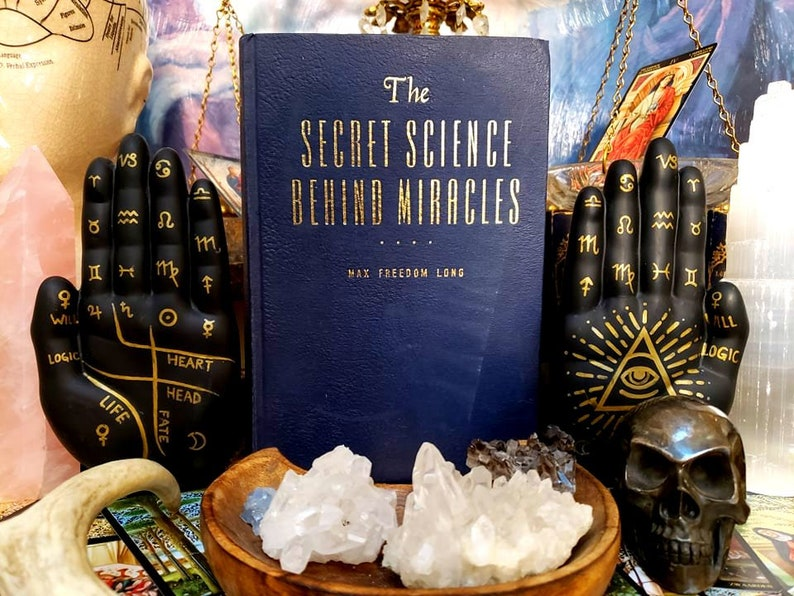 MIRACLES The Secret Science of Miracles RARE old book Enlightenment occult  spirituality astrology