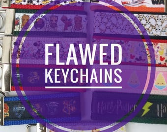 Flawed Key Fob Keychains
