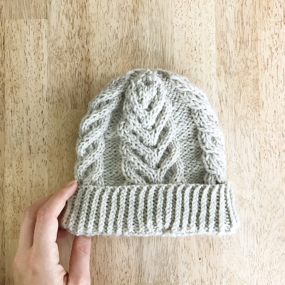 Toddler Cable Knit Toque Knitted Winter Beanie Baby Winter  5daa9632db5