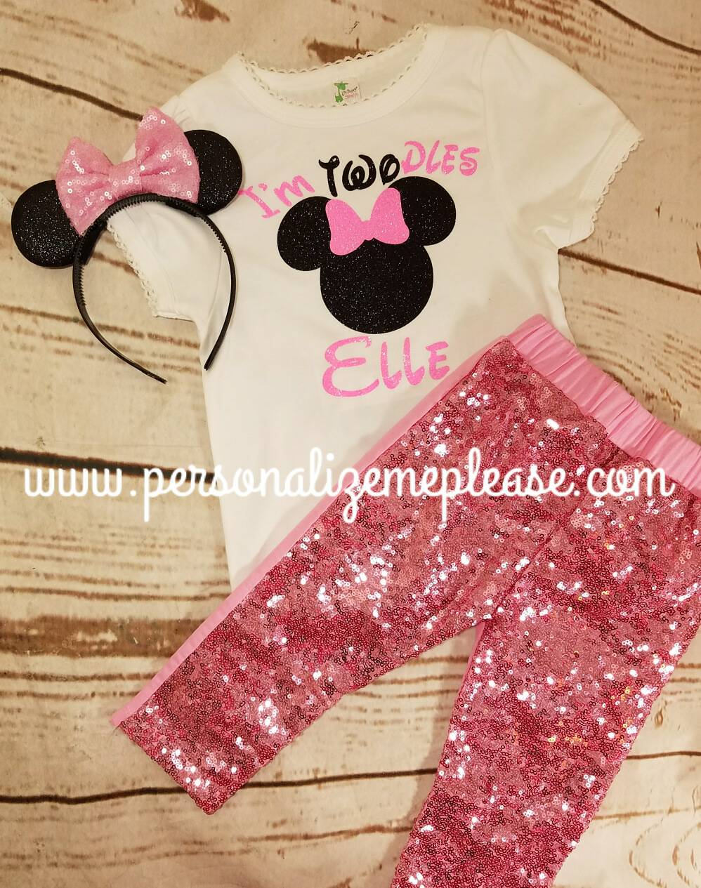 minnie mouse birthday outfit girls twoodles birthday 2nd outfit