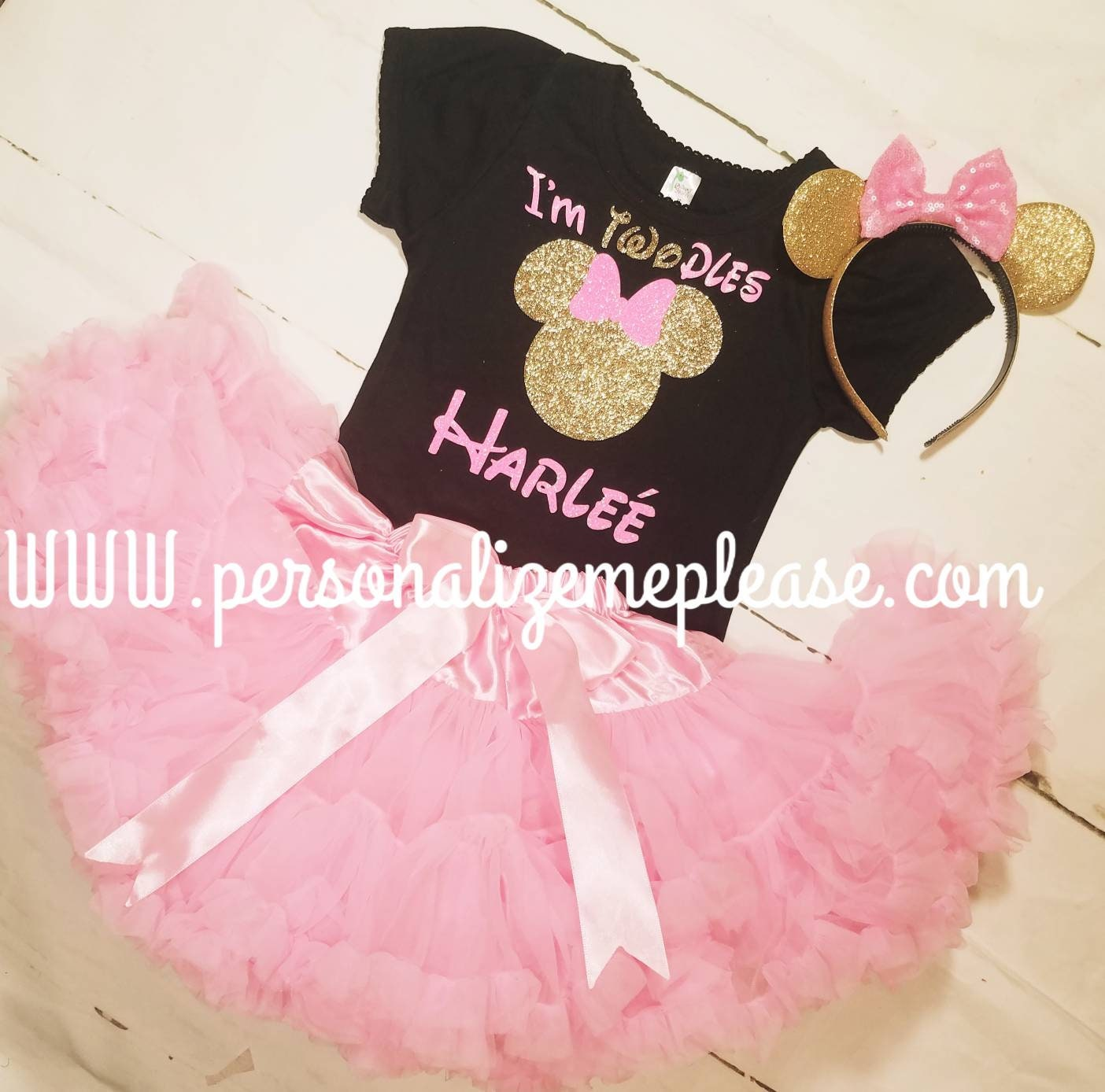 dd9948a4a39 Minnie Mouse Birthday Outfit