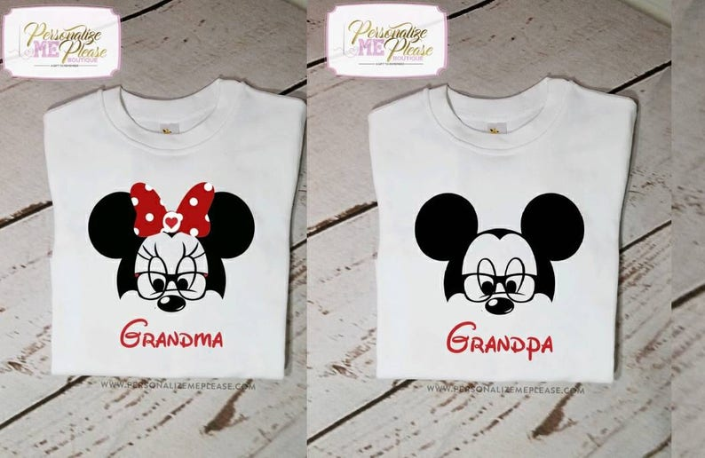 4e6ffded Grandma Minnie Mouse and Grandpa Mickey Mouse Birthday Party | Etsy