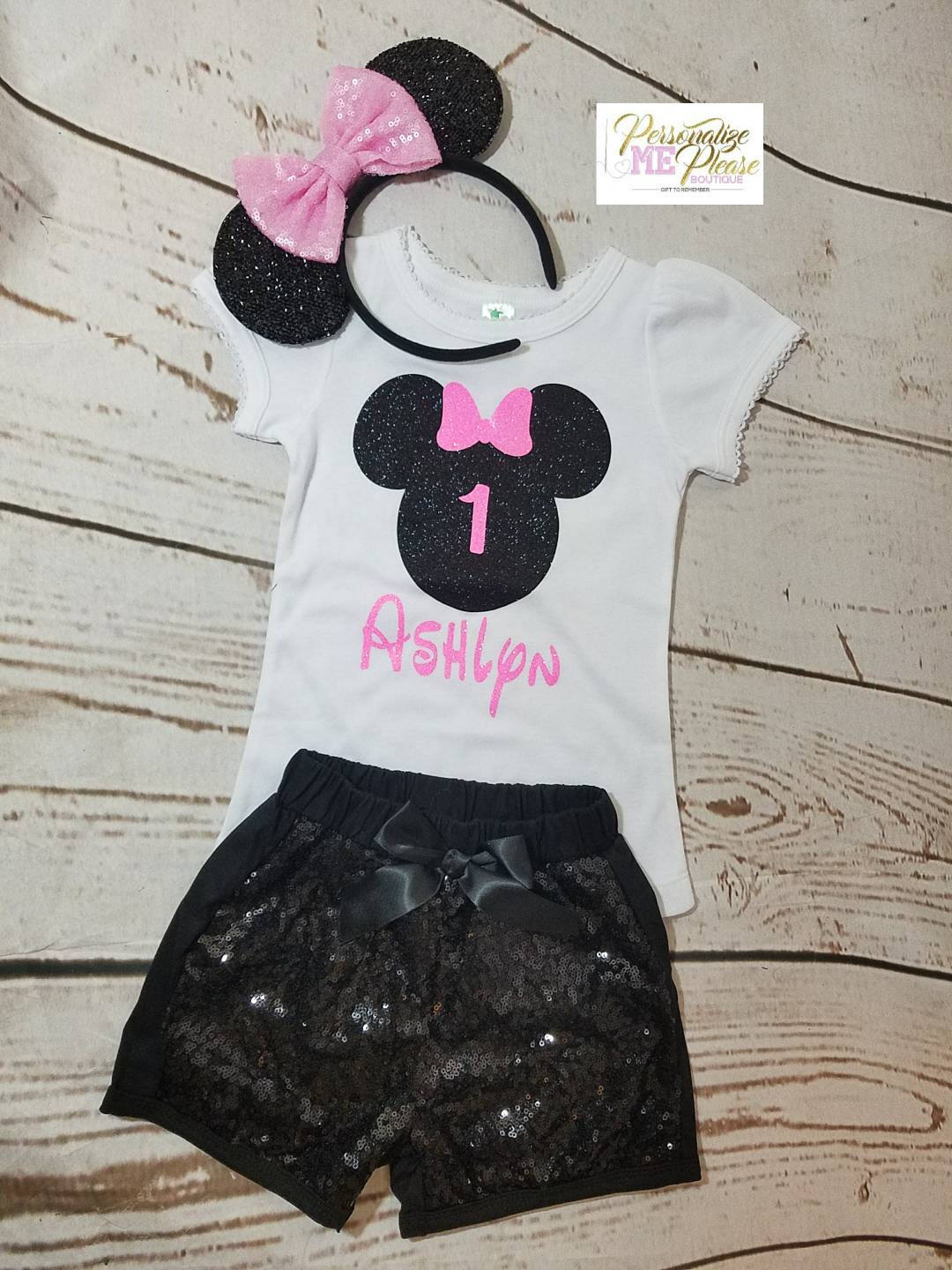 d4457d8ac5 Minnie Mouse Birthday Outfit