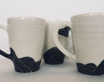 Landcape coffee cup