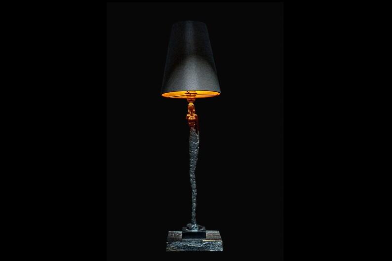 Bedside big art lamp with shade Pride&Joy lamp shades light image 0