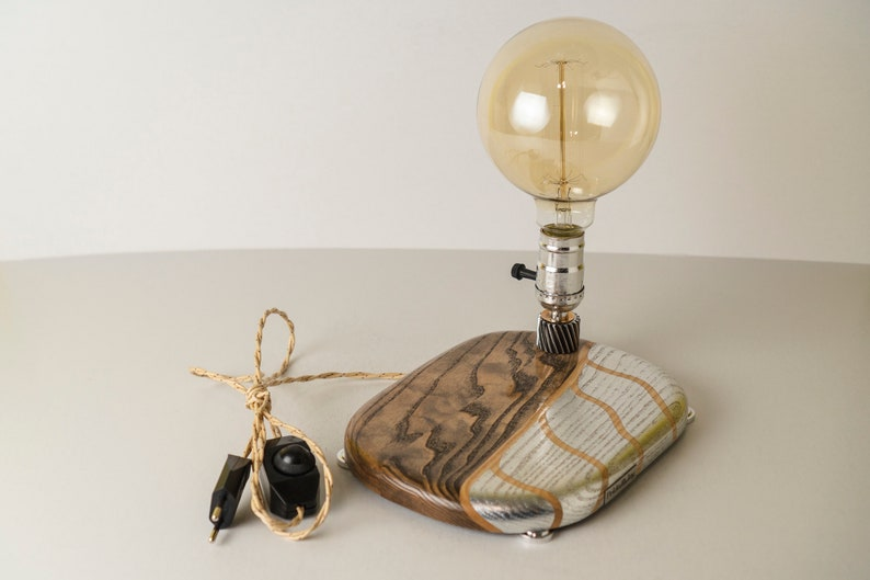 Exclusive table lamp Pride&Joy accent lamp home decor gift image 0