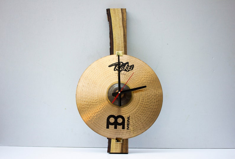 Vintage Meinl Raker Cymbal wall clock Pride&Joy decorative image 0