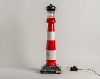 Decorative lamp Pride&Joy Lighthouse accent lamp home decor gifts unique table lamps gift for him for her Lighthouse decor exclusive gifts