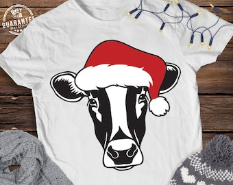 6fb667a91 Christmas Cow Svg Cow Head