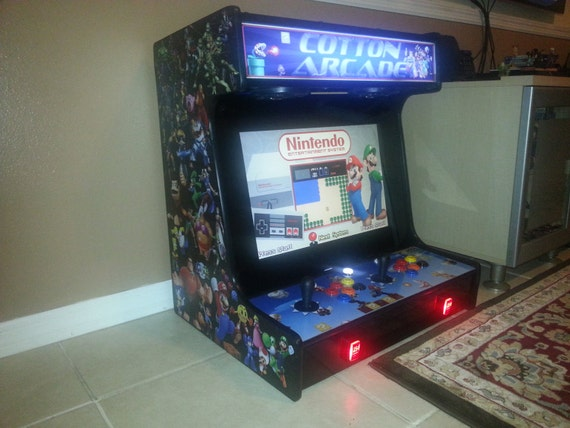 Bartop Arcade Cabinet Plans U0026 Templates DOWNLOADABLE PRICE