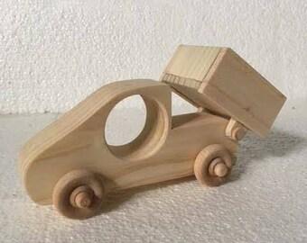 Bob the Dump Truck, Wooden truck, Wooden toys, Wooden decor, Baby shower gift, Handmade toys, Handmade gifts, Baby toys, Kids toys