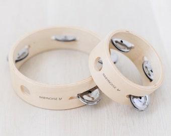 Mini and Large Tambourines