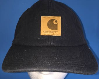 44fd7eaf957 Vintage Carhartt Ear Flaps Hat warm winter