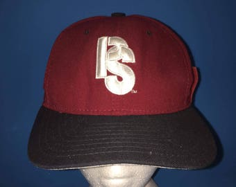 207d33771ca Vintage Pittsburg Steelers new era snapback hat 1990s NFL rare Colorway and  logo