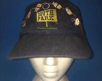 Vintage South Park SnapBack Hat Adjustable 1990s