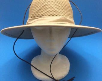 Vintage Henschel Hat Co bucket sun hat sz Medium 1990s