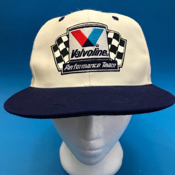 Vintage Valvoline performance team Snapback Hat Adjustable  bf726fd66b1