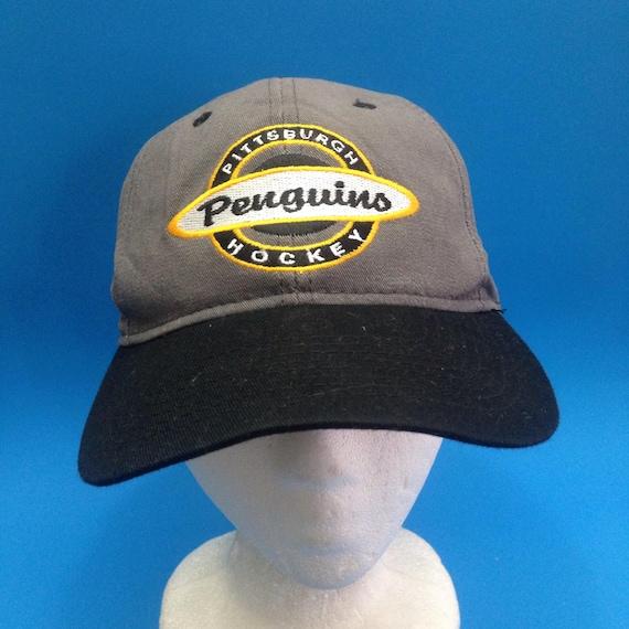 Vintage Pittsburgh Penguins SnapBack Hat Adjustable 1990s CCM  473923ce8811