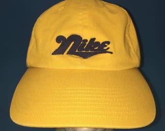 Vintage Nike strapback hat adjustable 1990s