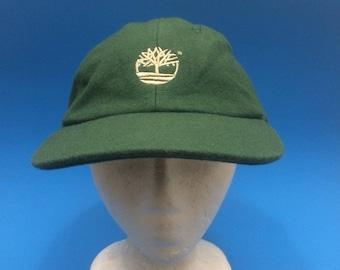 Vintage Timerland Strapback Hat Wool 1990s