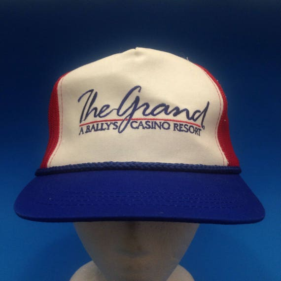 Vintage The Grand A Bally s Casino Resort Trucker SnapBack  fb0f1ce2aa7d