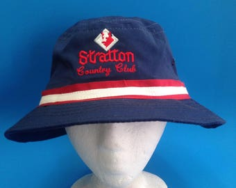 Vintage stratton country club bucket hat