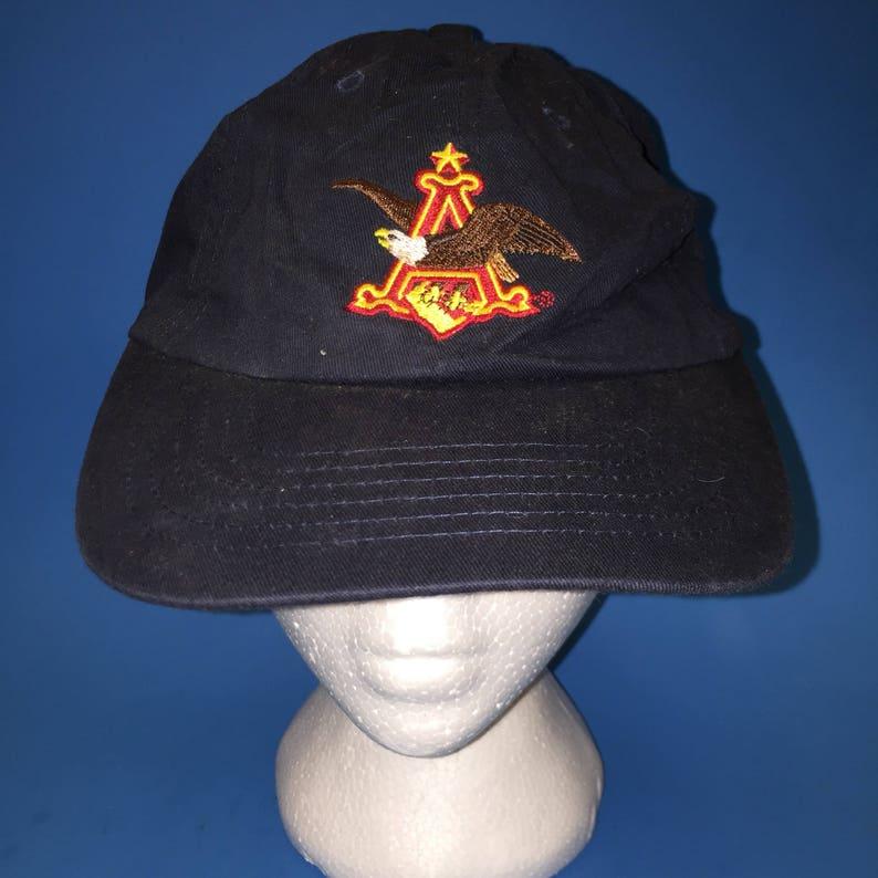 8f4321c2 Vintage Budwesier Strapback Hat Adjustable beer cold one | Etsy