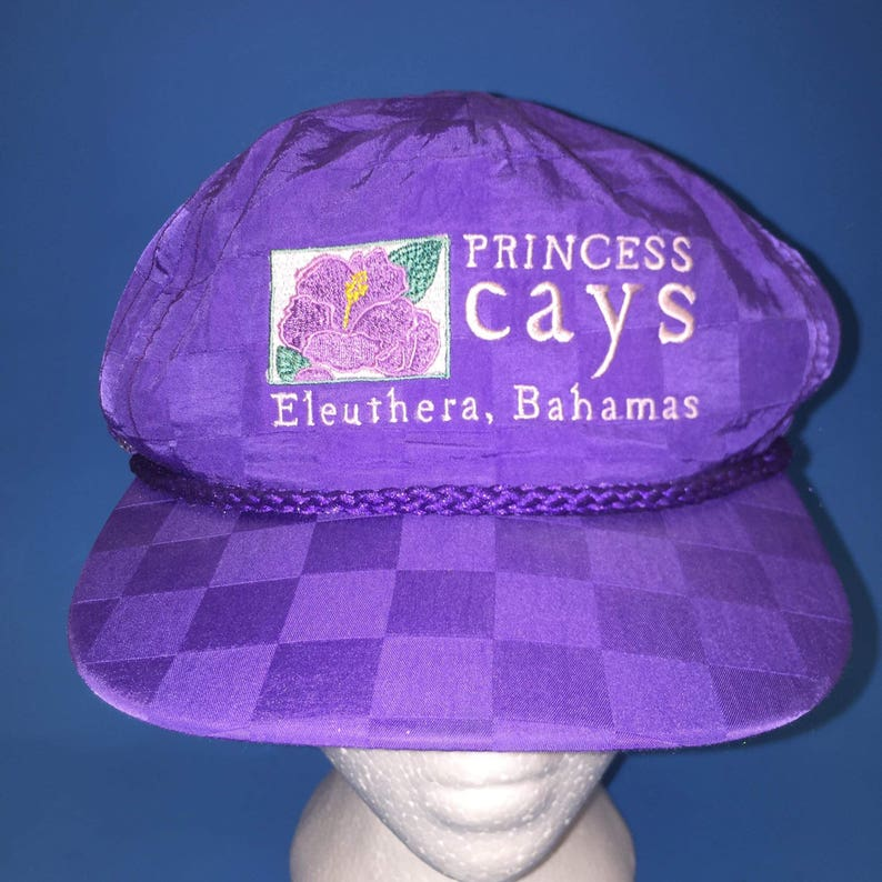 21b8c0654c1 Vintage princess Cays Bahamas Resort trucker hat adjustable