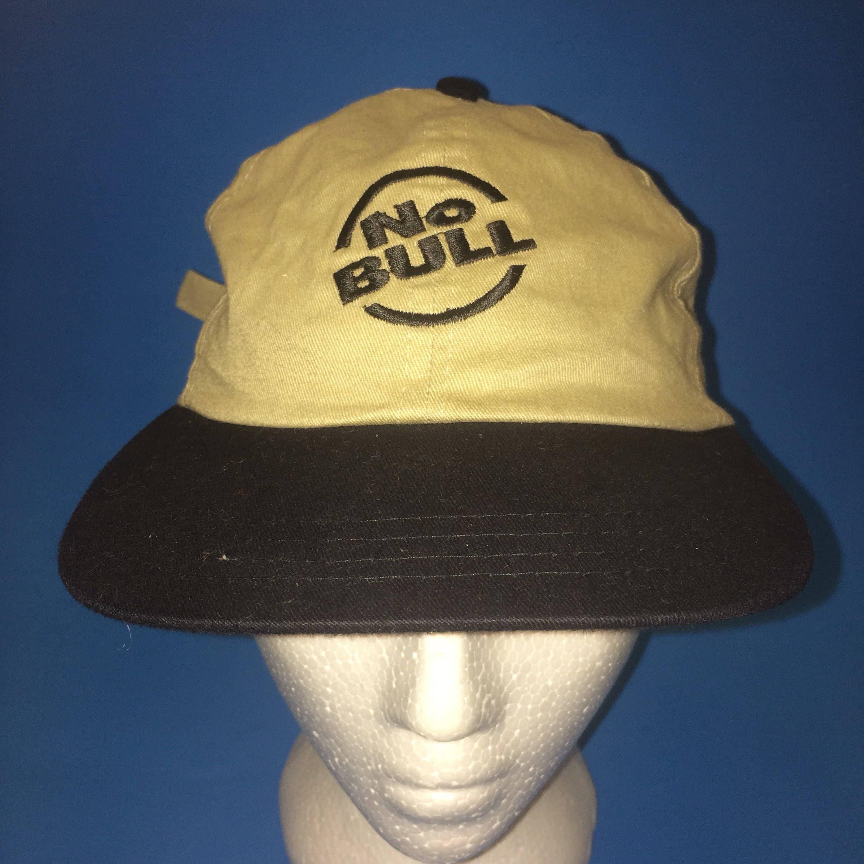 "WINSTON® /""no bull/"" baseball cap//hat khaki//black NEW WITH TAGS!"