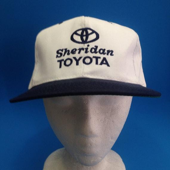 5b46140b744 Vintage Toyota SnapBack Trucker Hat Adjustable 1990s