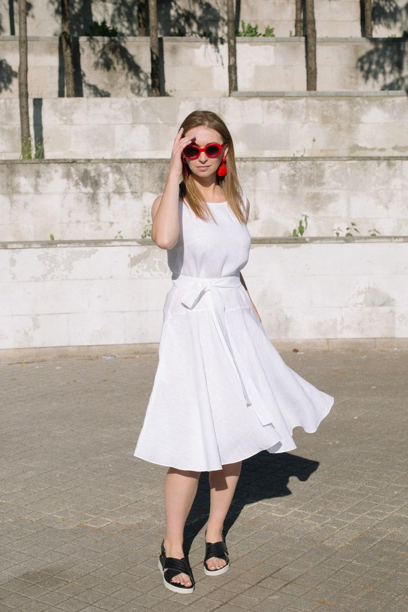 8c097d4e947 Linen dress Wedding dress Simple summer dress Loose summer