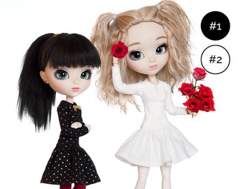 Dress for Pullip, Azone Pure Neemo S, Blythe, Obitsu 24/27 and similar 1/6 scale dolls