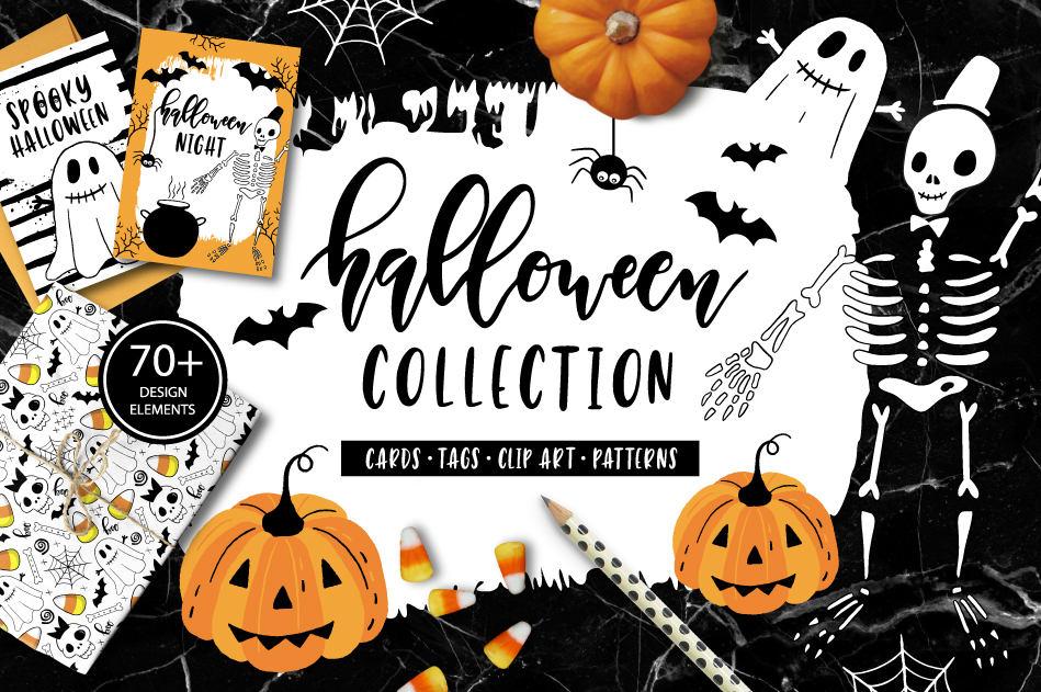 Halloween Clip art / autumn / pumpkin / ghost / boo ...
