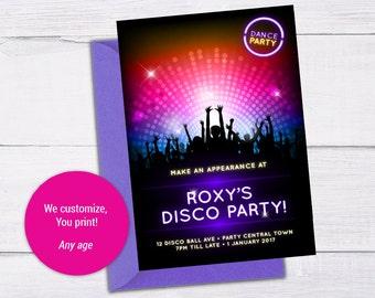 Disco Invite