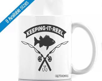 Keeping It Reel - Fisherman Coffee Mug