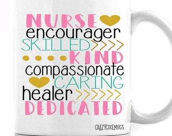 Nurse Description Coffee Mug