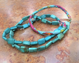 Turquoise Necklace Turkish Hand Made Perfect gift for Mother's Day