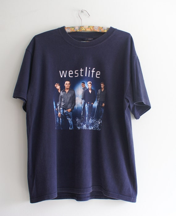 Westlife Tour T-shirt, Extremely Rare Westlife T-s