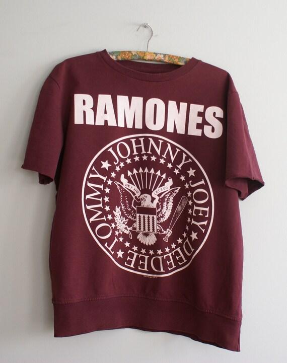 Official Ramones t-shirt, Ramones Band Sweatshirt,