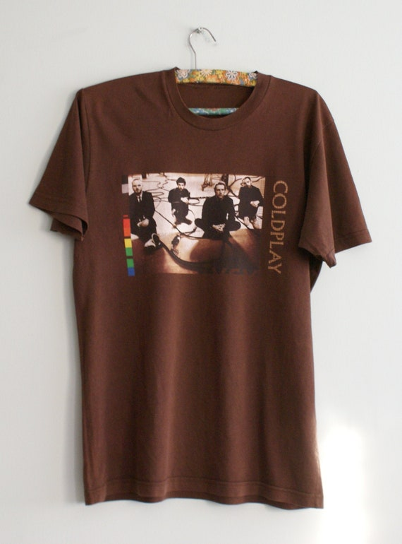 Rare Official Coldplay t-shirt, Coldplay Twisted L