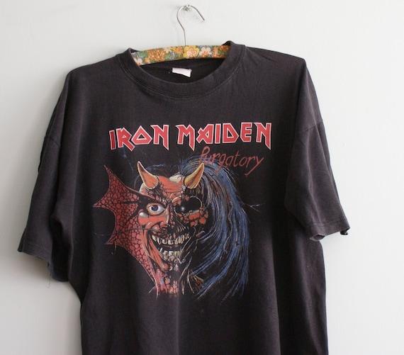 Vintage Iron Maiden t-shirt, Iron Maiden Purgatory