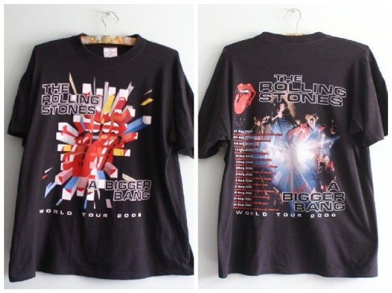 Rolling Stones Tour T-shirt - Official Rolling Sto