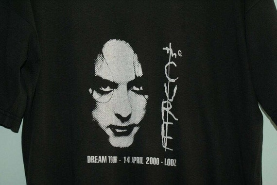Hyperrare Vintage The Cure shirt, The Cure Dream … - image 4