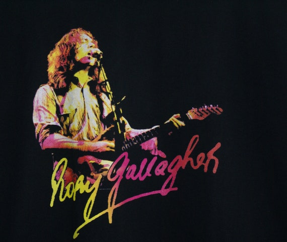 Rory Gallagher T-shirt, Vintage Rory Gallagher T-… - image 4