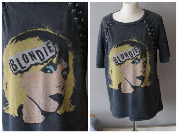 Official Blondie Shirt   Rare Debbie Harry t-shirt