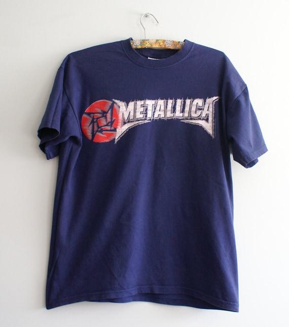 Official Metallica T-shirt, Metallica Logo shirt,