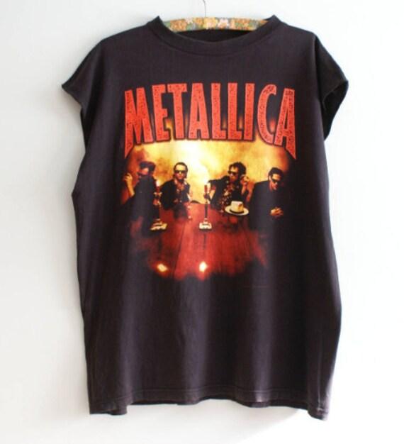 1996 Metallica Load Tour Unique Vintage T-shirt, 9