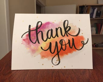 5 Handmade Thank You Cards + Envelopes {For Any Occasions}