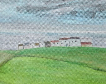 Cornish view, Penwith-small painting
