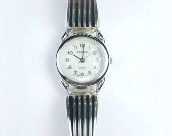 Native American Navajo handmade Sterling Silver watch